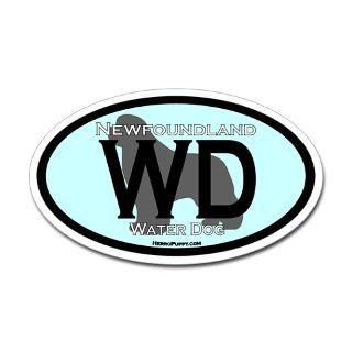 Water Dog Stickers  Car Bumper Stickers, Decals