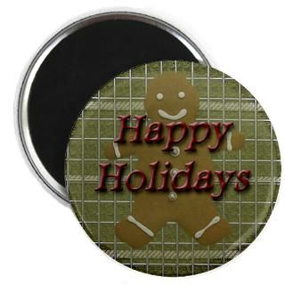 Happy Holidays Gingerbread Man : American Angst
