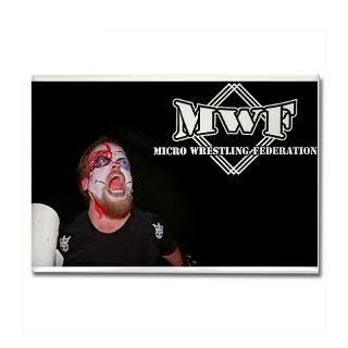 Micro Wrestling Federation Rectangle Magnet