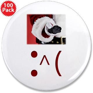 frown emoticon christmas coal 3 5 button 100 p $ 147 99