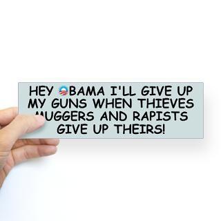 Anti Gun Control Stickers  Car Bumper Stickers, Decals