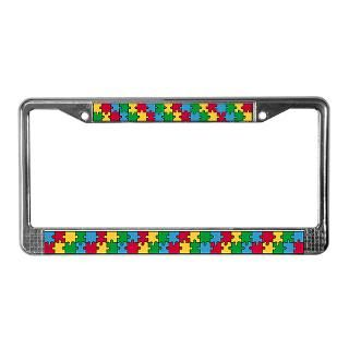 Autism License Plate Frame  Buy Autism Car License Plate Holders