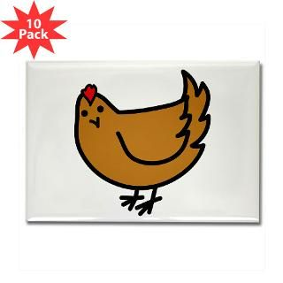 Cute Chicken  Compassion Fashion Gifts for Animal Lovers