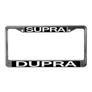Toyota Supra License Plate Frame  Buy Toyota Supra Car License Plate