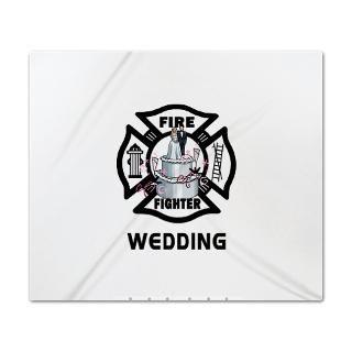 firefighter wedding cake king duvet $ 164 99