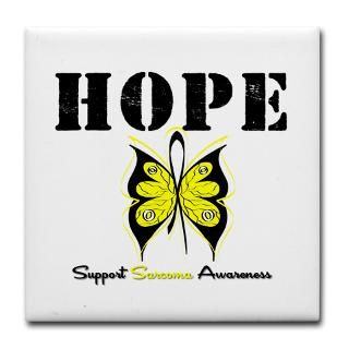 Hope Butterfly Sarcoma Shirts & Gifts  Shirts 4 Cancer Awareness