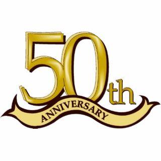 50.o Ornamento del aniversario Escultura Fotografica de
