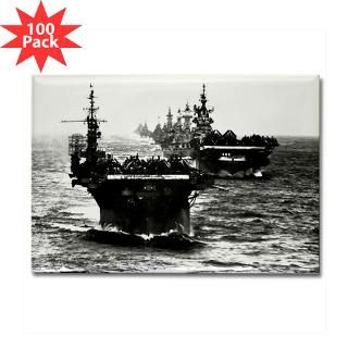 wwii aircraft carriers rectangle magnet 100 pack $ 174 99