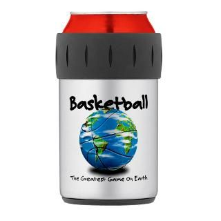 Gifts  Kitchen and Entertaining  Basketball Globe Thermos can