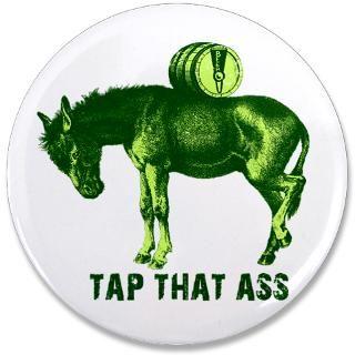 Tap That Ass Donkey Beer Keg  Shamrockz   Funny St Patricks Day T