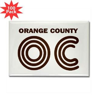 orange county oc rectangle magnet 100 pack $ 189 99