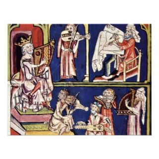 King David With Writers And Musicians By Meister D Announcement