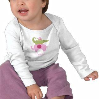 Mod Safari Jungle Animal Baby T Shirt t shirts by little_prints