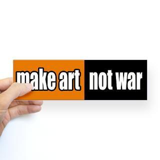 Make Art Not War Gifts & Merchandise  Make Art Not War Gift Ideas