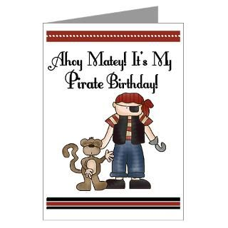 Pirate Birthday Greeting Cards  Buy Pirate Birthday Cards