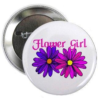 Gifts  Buttons  Flower girl Gerber Daisy Wedding Gear Button
