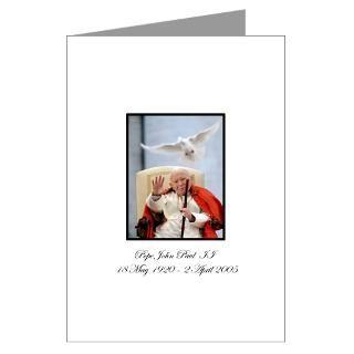 John Paul 2 Greeting Cards  Buy John Paul 2 Cards
