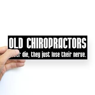Bumper Stickers  Chiropractic By Design