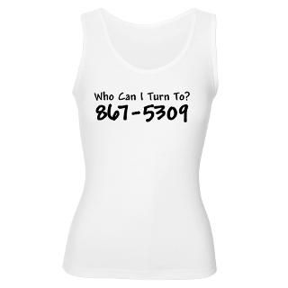 867 5309 Womens Tank Top for