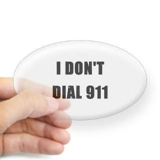 Dial 911 Stickers  Car Bumper Stickers, Decals