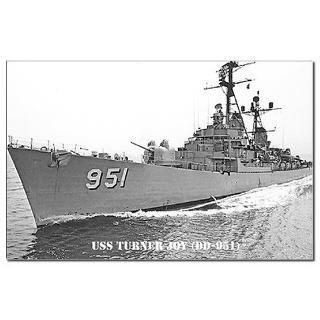 USS TURNER JOY Mini Poster Print  THE USS TURNER JOY (DD 951) STORE