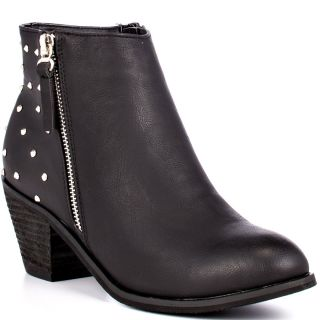 Blinks Black Mara Ankle Boot   Black Stud for 69.99