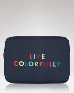 spade new york Live Colorfully Laptop Sleeve, 13