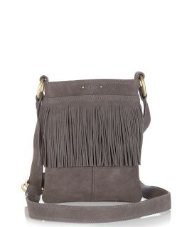 UGG® Australia Suede Fringed Messenger Bag