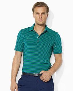 RLX Ralph Lauren Golf Short Sleeved Striped Airflow Stretch Jersey