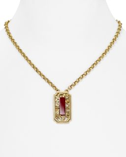 red stone pendant necklace 18 orig $ 48 00 sale $ 33 60 pricing policy