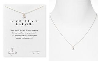 Dogeared Live Laugh Love Necklace, 18_2