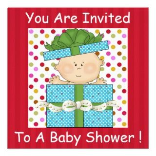 Baby Boy or GIRL Baby Shower Template Invitation
