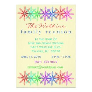 sample family reunion invitation letter on popscreen