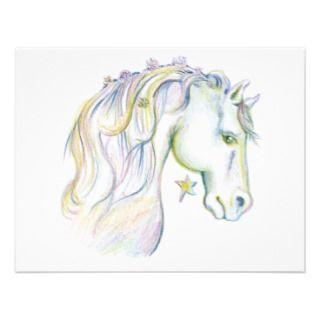Beautiful Horse Custom Invites
