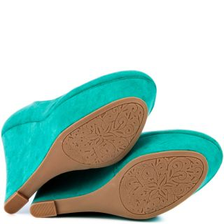Green Genevieve   Sea Green Suede for 64.99