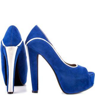 Blue Keona   Cobalt Blue Velvet for 79.99