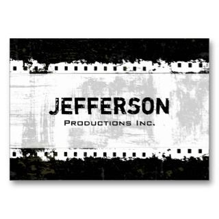 grunge style large company business card are great for any business