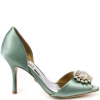 Veda Souls Green Genevieve   Sea Green Suede for 64.99