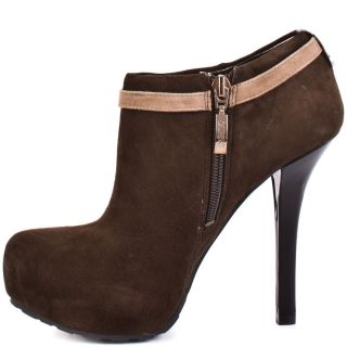 Gracia   Dark Brown Suede, Guess, $114.74