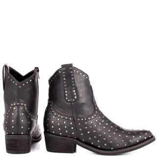 Blinks Black Lana Ankle Boot   Black Stud for 69.99