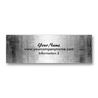 Grunge Steel Metal  Business Cards