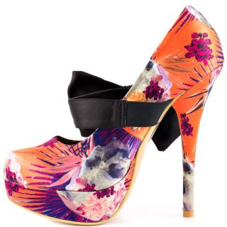 Iron Fists Multi Color La Reina Platform   Orange for 79.99