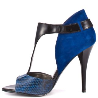 Okemos   Blue Multi Suede, Guess, $79.99