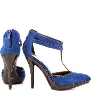 Michael Antonios Multi Color Laporte   Blue Velvet for 79.99
