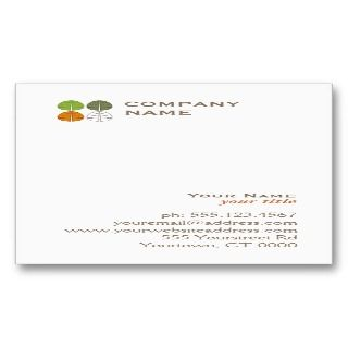 Four Seasons Logo Business Card