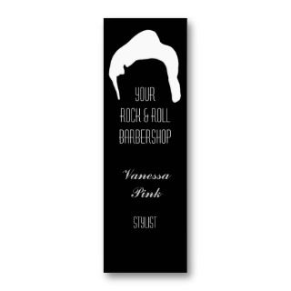 Scissors and Comb Hair Biz Business Card Templates
