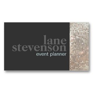 event planner business cards on PopScreen