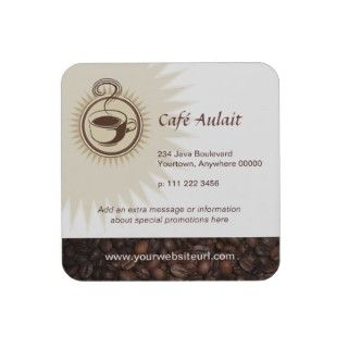 Coffee Bar Cork Coaster by starstreambusiness