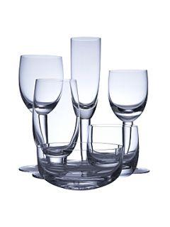 Denby White glassware