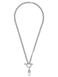 Aurora Aurora Swarovski 18ct White Gold Plated Necklace
